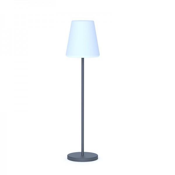LAMPADA PIANTANA SOLARE LED MOD.LOLA SLIM 120 CM CON TELECOMANDO