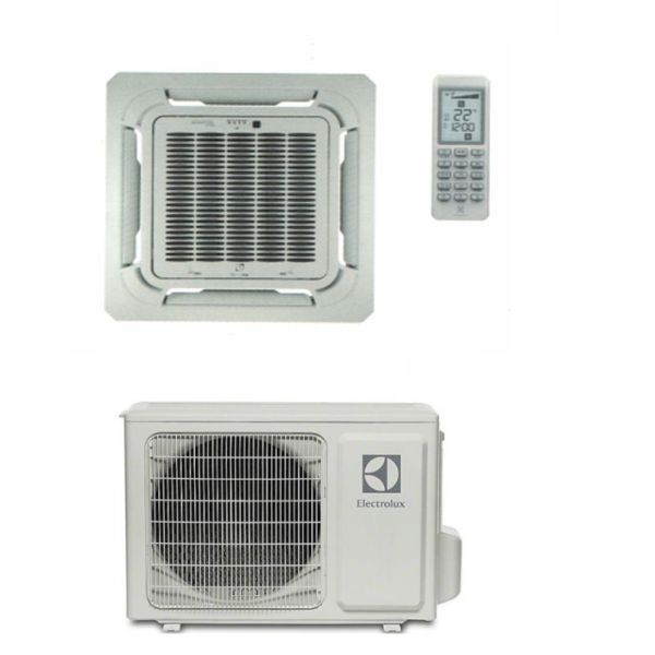 CLIMATIZZATORE ELECTROLUX CASSETTA A 4 VIE MONO 24000 BTU