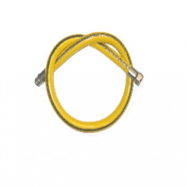 Flessibile mbm per gas 1 metro a norma non estensibile codice mbm 68222