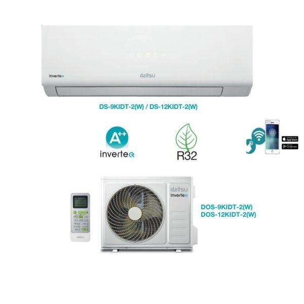 CLIMATIZZATORE DAITSU MONOSPLIT 9000 BTU R-32 WI-FI INCLUSO