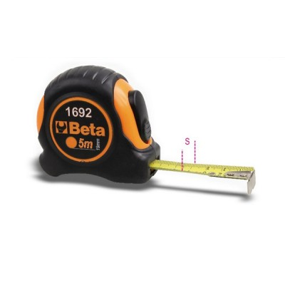 Flessometro metro portatile beta lunghezza 3 metri 1692/3