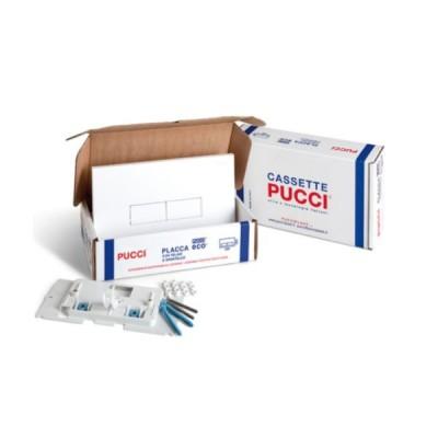 PUCCI PLAST PLACCA CON TELAIO ECO BIANCA 80179560