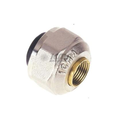 Dado icma 1/2''x12 m24 per impianto in rame da 12 codice 81090gc06