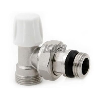 Detentore angolo termostatico icma 3/8'' codice 82837ac06