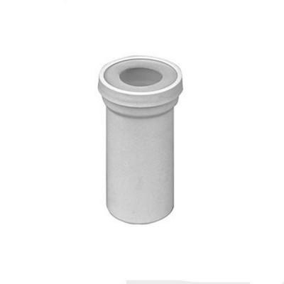 Prolunga rigida in pvc bonomini per vasi wc d. 100 mm 8430pv10c0