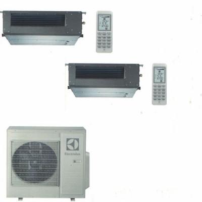 CLIMATIZZATORE ELECTROLUX CANALIZZABILE DUAL 9000+9000