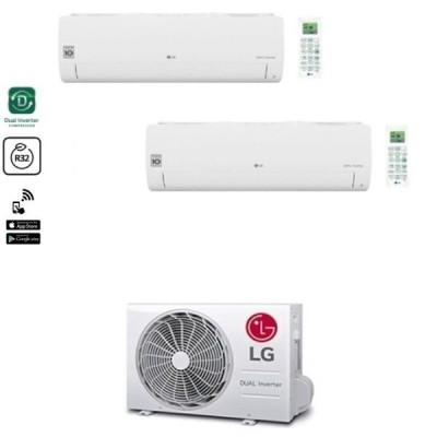 CLIMATIZZATORE LG LIBERO SMART DUALSPLIT 9000+9000+MU2R15 R-32 WI-FI