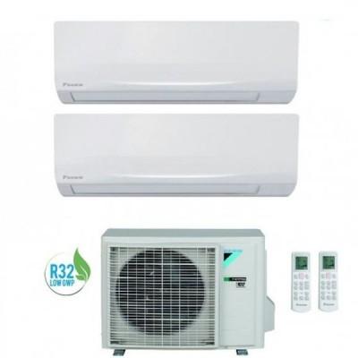 CLIMATIZZATORE DAIKIN SIESTA DUAL SPLIT 9000+9000+2AMXF50A INVERTER R-32 A++