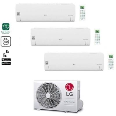 CLIMATIZZATORE LG LIBERO SMART TRIALSPLIT 9000+9000+9000+MU3R21 INVERTER R-32