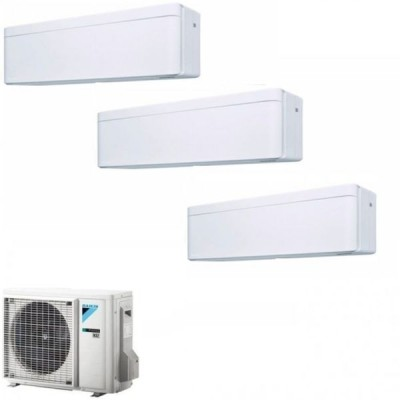 CLIMATIZZATORE DAIKIN STYLISH WHITE TRIAL SPLIT 9000+9000+12000+3MXM68N