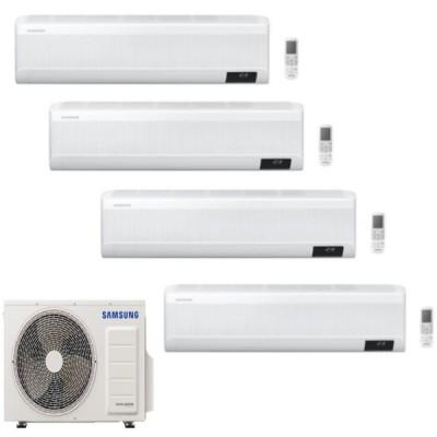 CLIMATIZZATORE SAMSUNG WINDFREE AVANT QUADRI SPLIT 9000+9000+9000+12000+AJ080TXJ4KG R-32 WI-FI