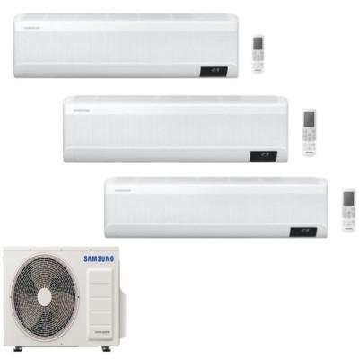 CLIMATIZZATORE SAMSUNG WINDFREE AVANT TRIALSPLIT 9000+9000+9000+AJ068TXJ3KG R-32 WI-FI